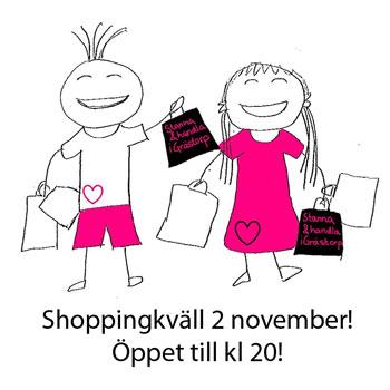 shoppingkvall